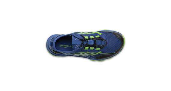 Merrell Hydro Run Shoes Kids Blue/Green/Black